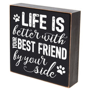 Inspirational Pet Shadow Box life is better