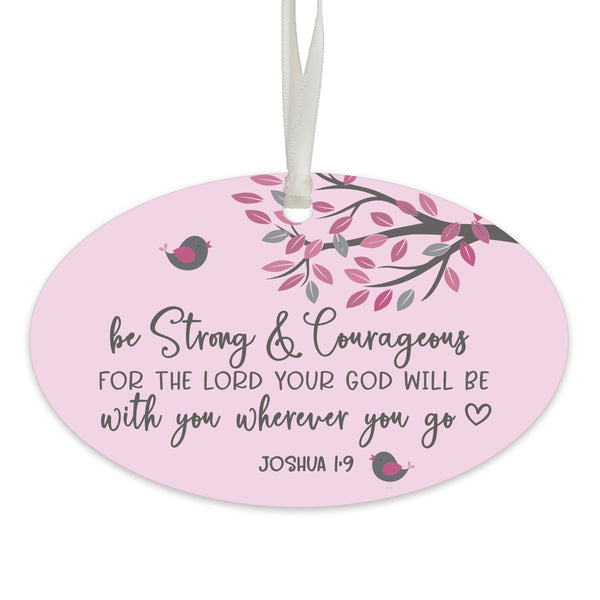 Child Baptism Hanging Ornament Verse Gift for Goddaughter
