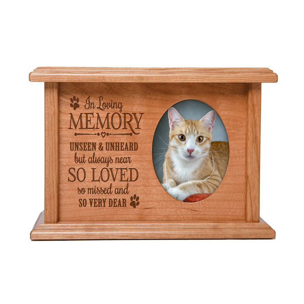 Pet Memorial Cremation Urn Box - So Very Dear