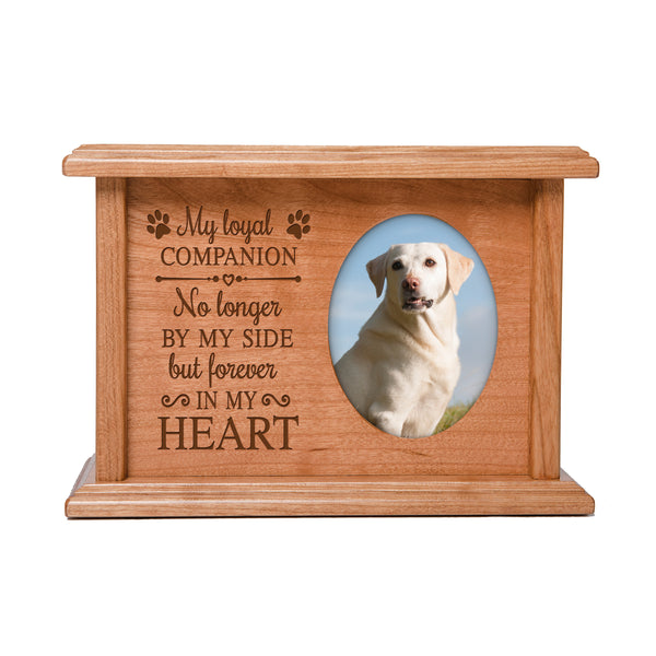 Pet Memorial Cremation Urn Box - My Loyal Companion