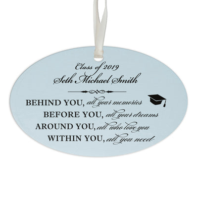 Personalized Graduation Ornament Gift for Graduate - Behind You