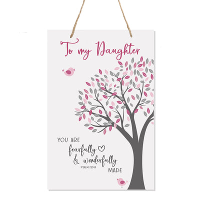 Nursery Decor For My Son or Daughter Girls and Boys Happy Birthday Wishes Gift Ideas Wall Hanging Sign From Mom and Dad bedroom nursery celebrate decorations grandson granddaughter
