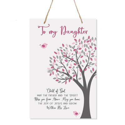 Lifesong Milestones Nursery Decor For My Son or Daughter - Girls and Boys Happy Birthday Wishes Gift Ideas -   8x12