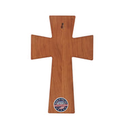 Personalized Wood Wall Cross Birthday Gift For Grandpa - Place Within Our Hearts