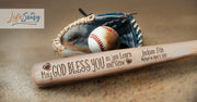 First Communion Gifts for Boys Wood Baseball Bat made of Ash Wood