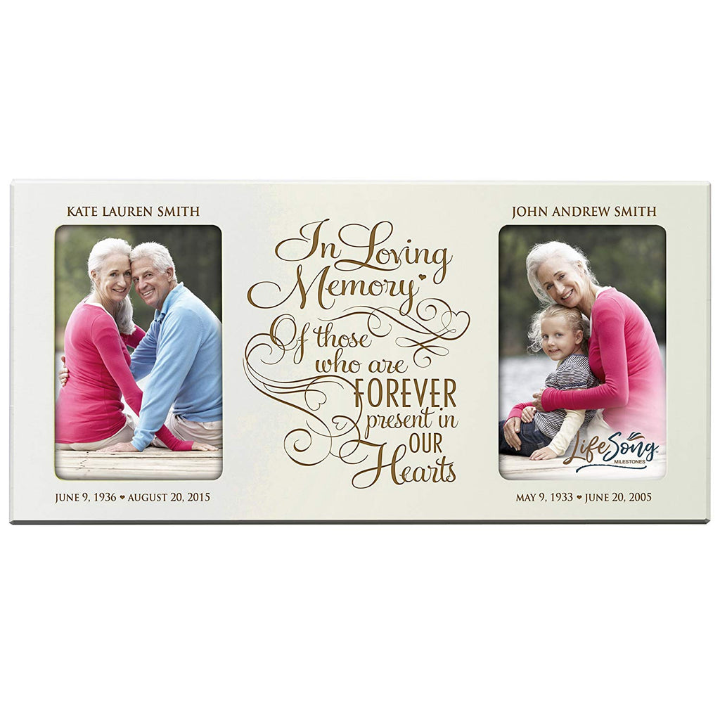 Personalized Memorial Sympathy Picture Frame In Loving Memory Of