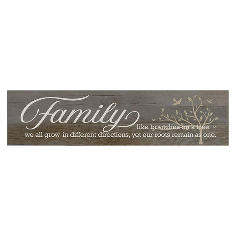 Family Like Branches On A Tree Decorative Wall Sign