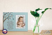 1st Baptism Blessing Photo Frame Gift For Newborn - May The Lord.