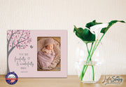 1st Baptism Blessing Photo Frame Gift For Newborn - Fearfully & Wonderfully