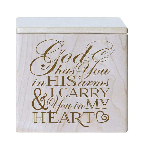 Small Adult Cremation Urn - God Has You