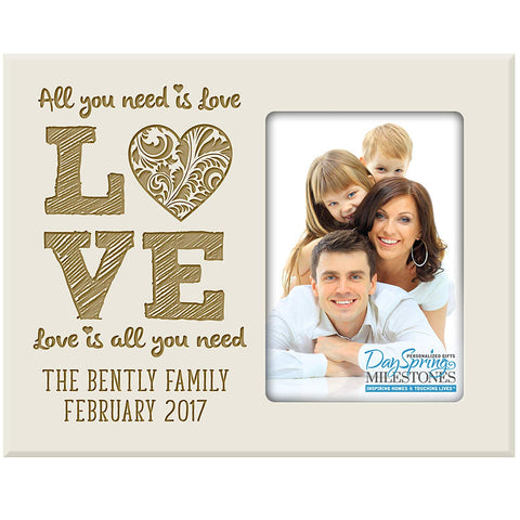 Personalized Valentine's Day Frames - Love