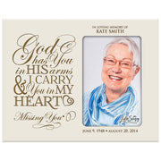 Personalized Memorial Picture Frame