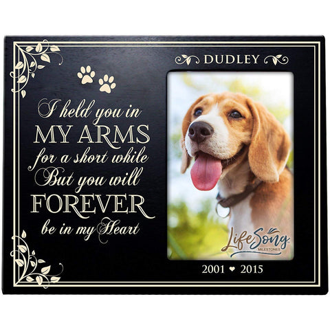 Personalized Pet Memorial Photo Frame Gift