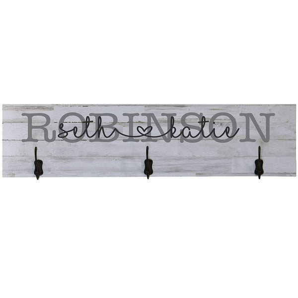 LifeSong Milestones Personalized Family Established Wall Signs Date to Remember, Custom Last Name signs for home Wedding, Anniversary, Living Room, Entryway, Kitchen, Bedroom