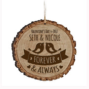 Personalized Valentine's Day Ornaments Forever & Always