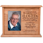 personalized urn human keepsake memorial adult children ashes Dad you are