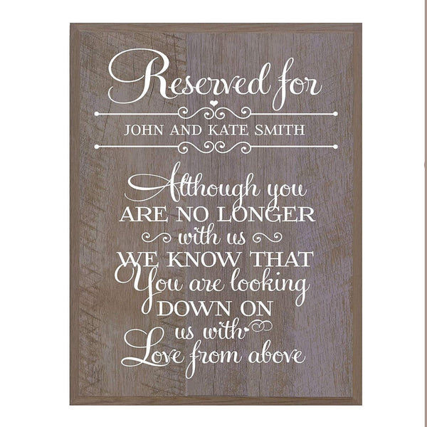 Memorial wall plaque Although You Are No Longer size 12 x 15