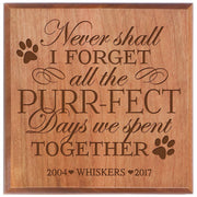 Brown urn pet ashes cremation sympathy memorial animal personalized