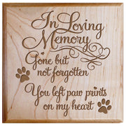 Maple urn pet ashes cremation sympathy memorial animal