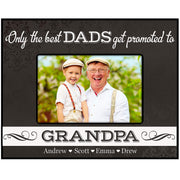 Personalized Father's Day Photo Frame Gift .