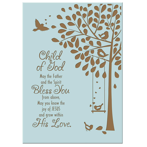 1st Holy Communion Wall Plaque Gift - Child Of God
