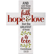 wall cross decor home family inspirational gift