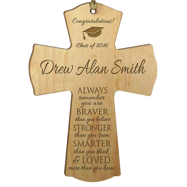 Personalized Graduate Wall Cross Gift Idea