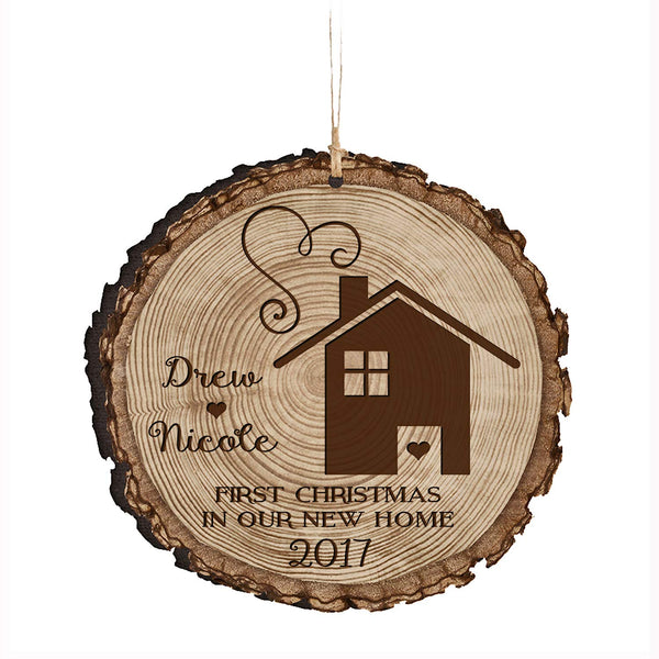 Personalized Couple Christmas New Home Ornaments First Christmas