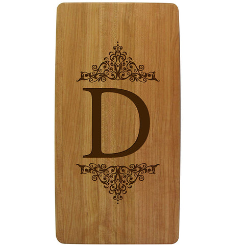 Cherry Cutting Boards - Initial Monogram