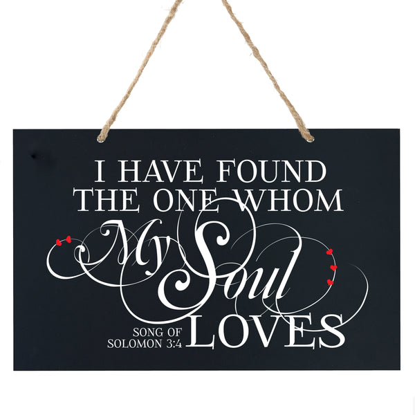 Anniversary Wooden Wedding Ceremony Sign Gift - I Have Found