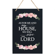 "Housewarming Wall Hanging Sign Gift - for New Homeowners, Family Home Decor 8"" x 12"""