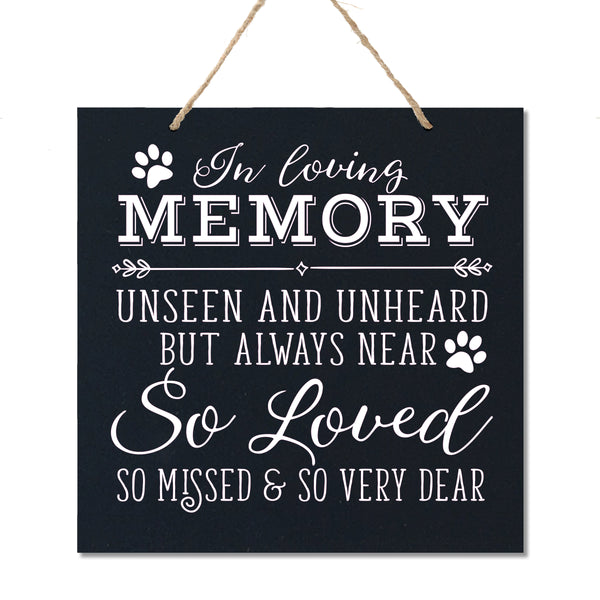 memorial bereavement funeral ceremony gift loss of loved one grieving grief mans best friend passed away