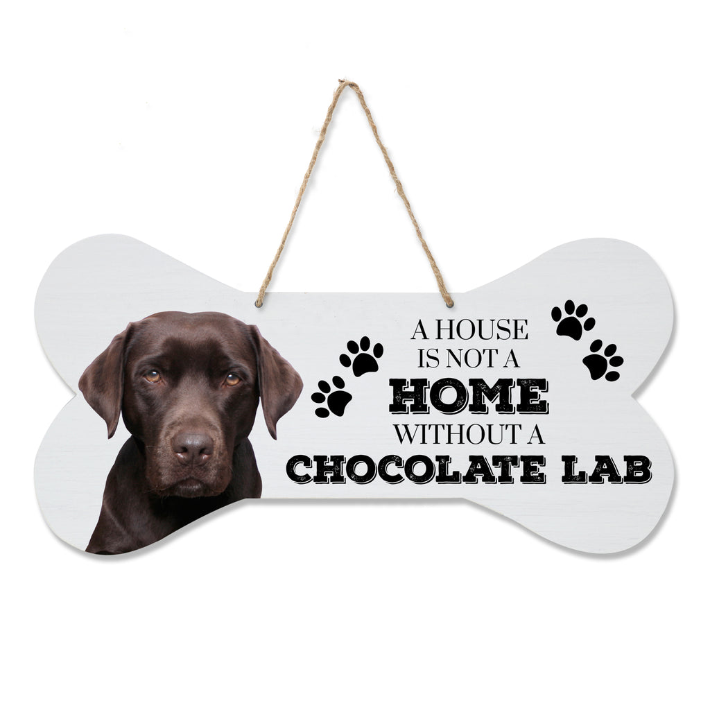 A house is not a home without a Black Lab wood sign plaque Labrador gift//present