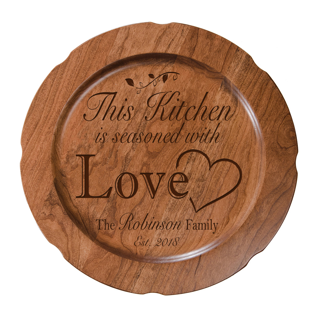 Personalized Inspirational Plates With Quotes This Kitchen