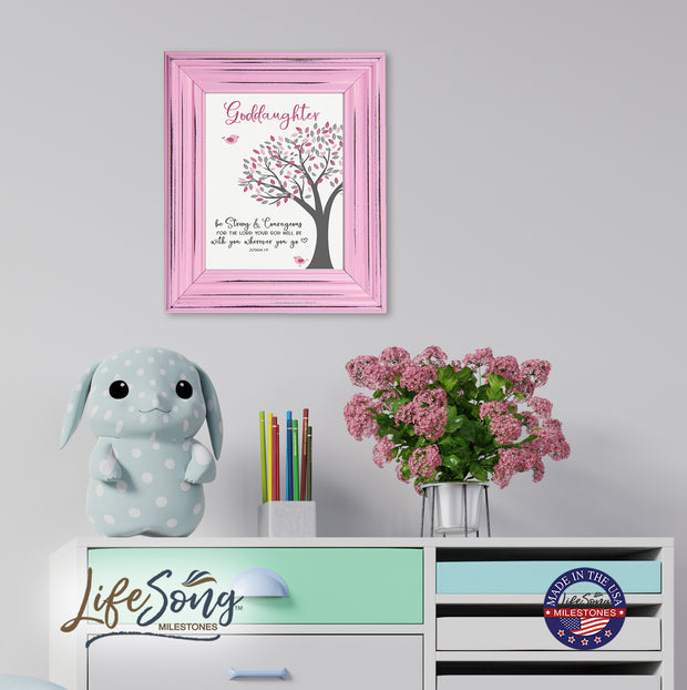 Godchild Framed Wall Signs - Be Strong