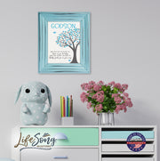 Godchild Framed Wall Signs - May You Feel