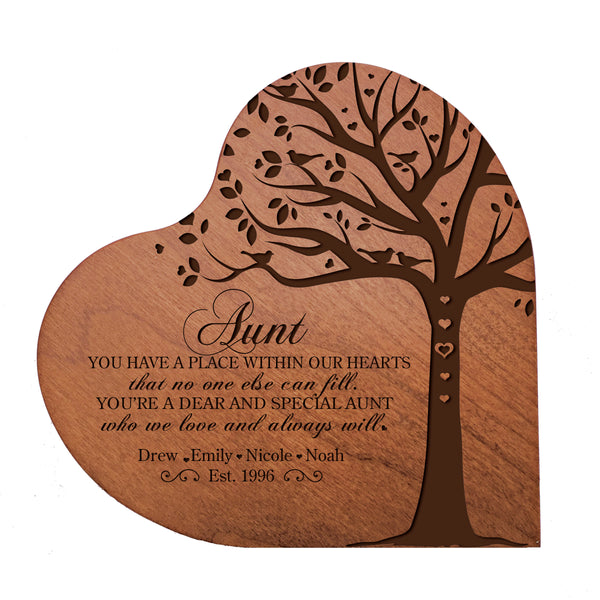 "Personalized Mother's Day Hearts of Love 5"" x 5"" - You Have A Place"