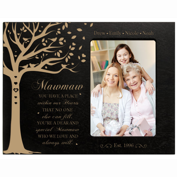"Personalized Mother's Day Picture Frame 4"" x 6"" Have A Place Mawmaw"