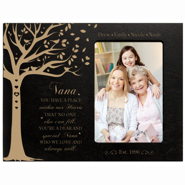 "Personalized Mother's Day Picture Frame 4"" x 6"" You Have A Place Nana"