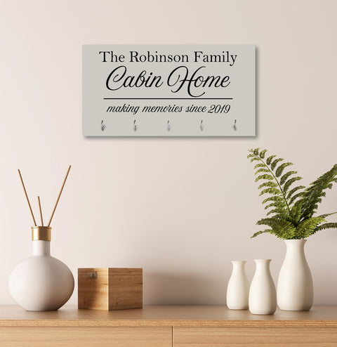 Personalized Established Key Holders - Cabin House