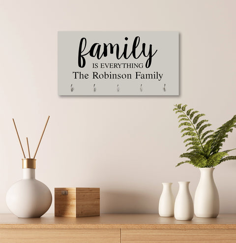 Personalized Established Key Holders - Family Is Everything Name