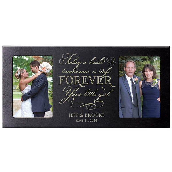 Wedding Gift for Parents Picture Frame (Cherry)
