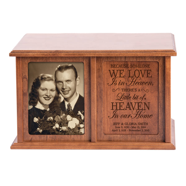 Personalized Double Adult Human Cremation Urn - Someone We Love