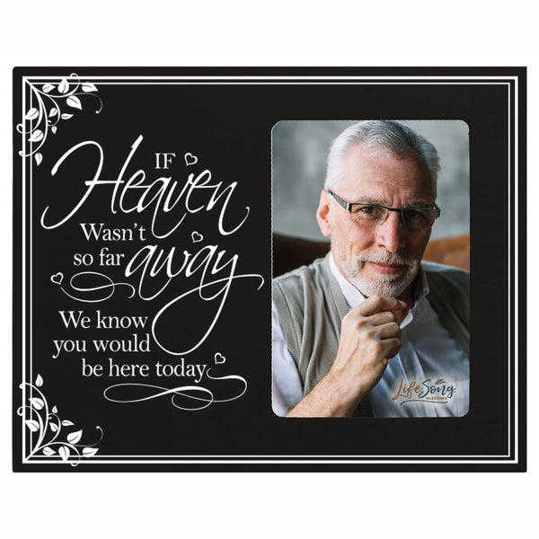 "LifeSong Milestones Memorial Picture Frame - Bereavement Sympathy Gift for Loss of Loved One 8""x10"" Photo Frame Holds 4""x6"" Photo"