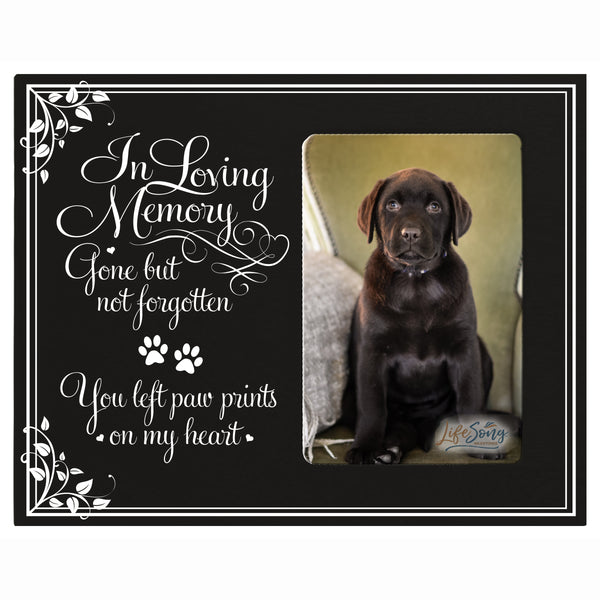 Words of Condolences Message Quotes for Loss of a Pet death funeral wall hanging In Loving Memory