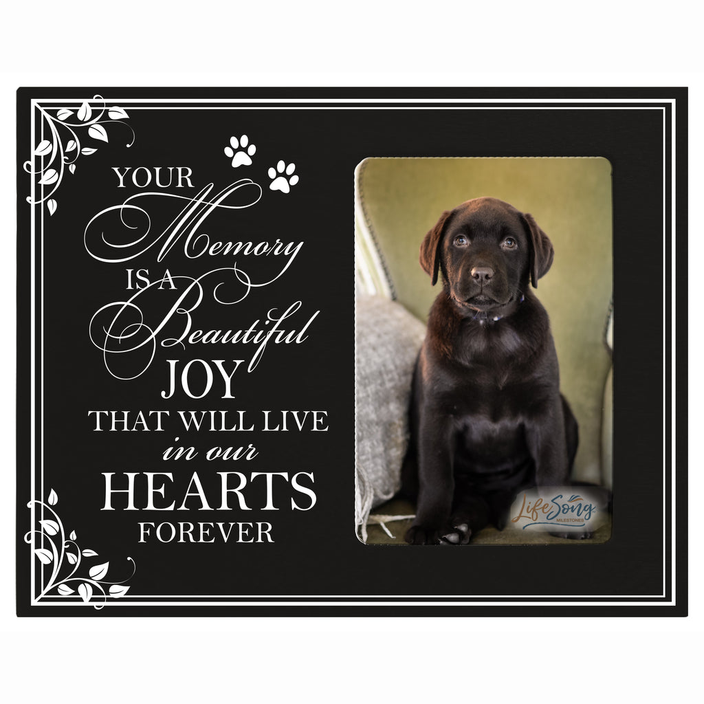 "8""x10"" Pet Memorial Photo Frame - Condolences Gift - Your Memory"