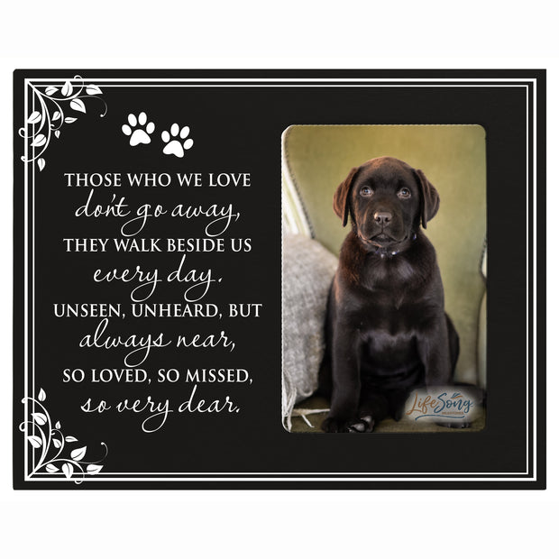 Words of Condolences Message Quotes for Loss of a Pet death funeral wall hanging Those Who We Love