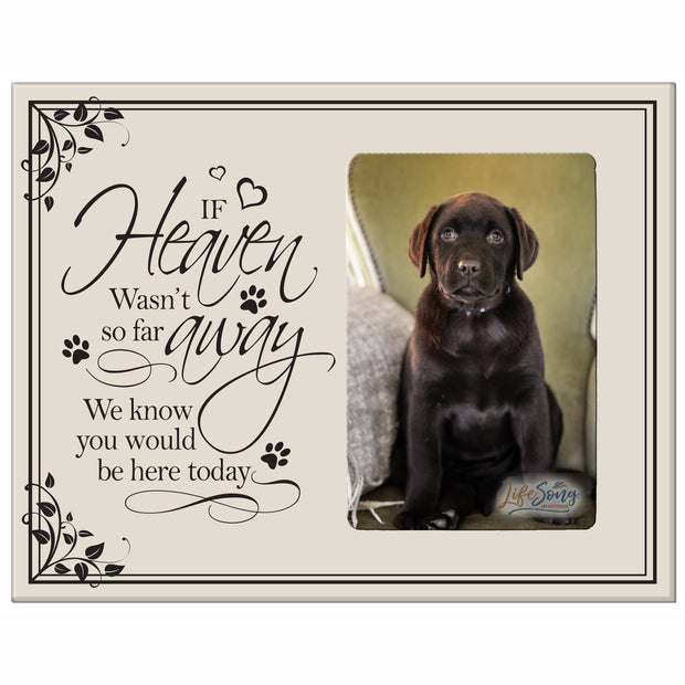 Words of Condolences Message Quotes for Loss of a Pet death funeral wall hanging If Heaven