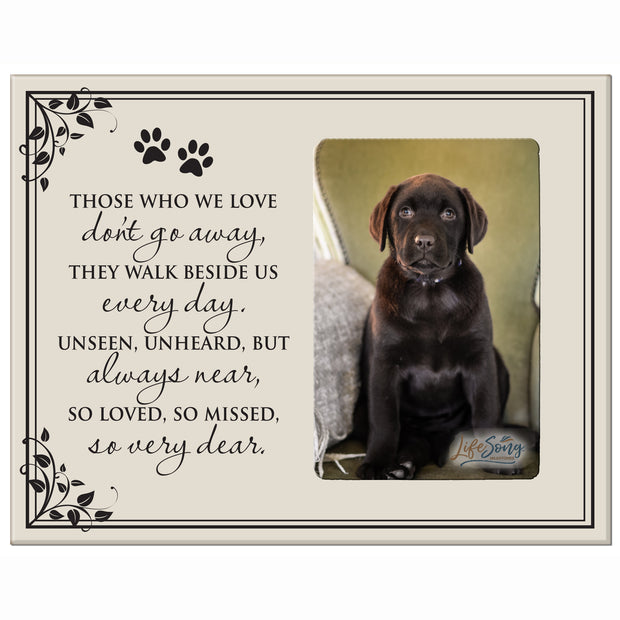 Sympathy Memorial Picture Frame Gift Ideas loss of pet inspirational grief comfort decorSympathy Memorial Picture Frame Gift Ideas loss of pet inspirational grief comfort decor Those Who We Love