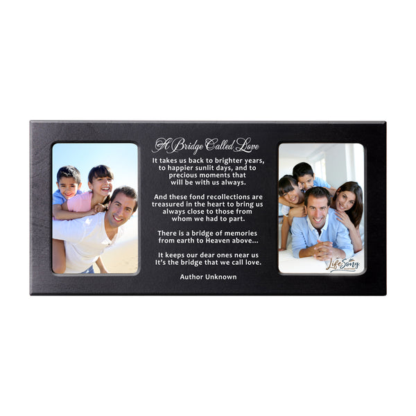 Words of Condolences Message Quotes for Loss of Loved One grieving keepsakes Bereavement Sympathy Memorial Picture Frame